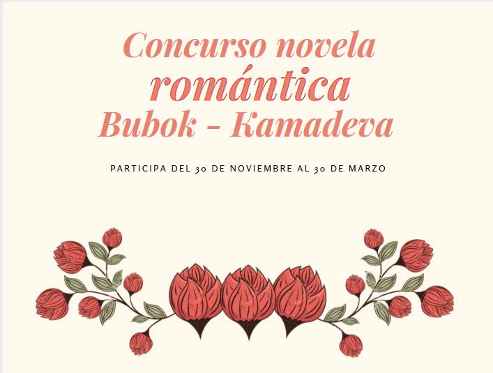 Abrimos convocatoria al concurso de novela romántica Bubok - Kamadeva 2018