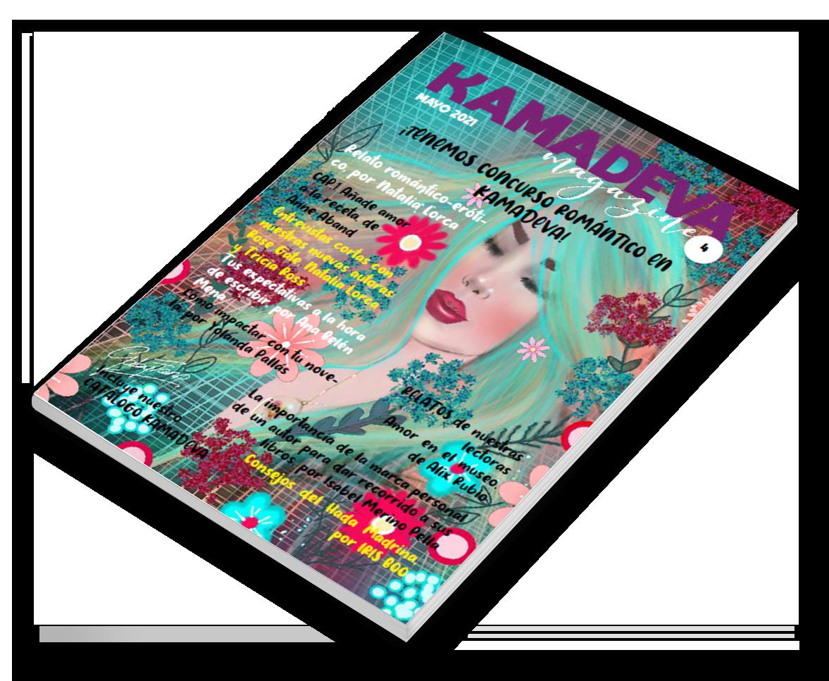 Nueva revista de mayo de Kamadeva Magazine